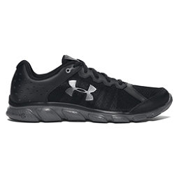 Under Armour Micro G Assert 6 Mens Athletic Shoes, Black-Rhino Gray-Rhino Gray, 256