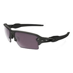 Oakley Flak 2.0 XL Prizm Polarized Sunglasses, Steel-Prizm Daily Polarized, 256