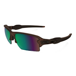 Oakley Flak 2.0 XL Prizm Polarized Sunglasses, Matte Rootbeer-Prizm Shallow Water Polarized, 256