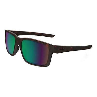 Oakley Mainlink Prizm Polarized Sunglasses, Matte Tortoise-Prizm Shallow, viewer