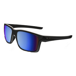 Oakley Mainlink Prizm Polarized Sunglasses, Polished Black-Prizm Deep Water, 256