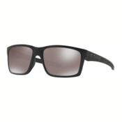 Oakley Mainlink Prizm Polarized Sunglasses, Matte Black-Prizm Black Polarized, medium