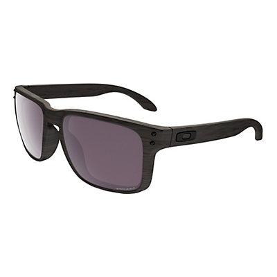 Oakley Holbrook PRIZM Woodgrain Polarized Sunglasses, , viewer