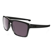 Oakley Silver XL Polarized Sunglasses, Polished Black-Prizm Daily Polarized, medium