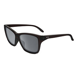 Oakley Hold On Womens Sunglasses, Frosted Rhone-Black Iridium, 256