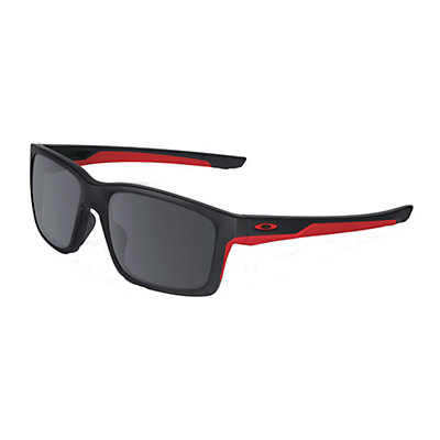 Oakley Mainlink Sunglasses, Matte Black-Black Iridium, viewer