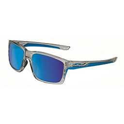 Oakley Mainlink Sunglasses, Gray Ink-Sapphire Iridium, 256