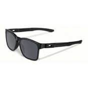 Oakley Catalyst Sunglasses, Polished Black-Black Iridium, medium