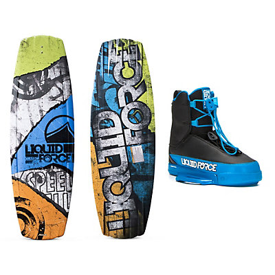 Liquid Force Classic Wakeboard With Tao Bindings 2016, 134cm, viewer