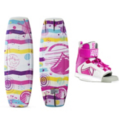 Liquid Force Dream Kids Wakeboard With Dream Bindings, , medium