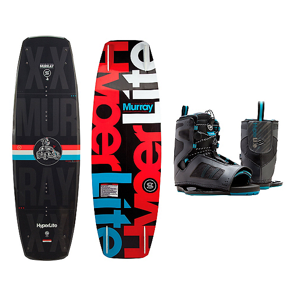 Hyperlite Murray Wakeboard With Team OT Bindings, , 600