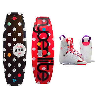 Hyperlite Divine Womens Wakeboard With Allure Bindings 2016, , viewer