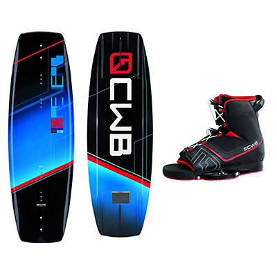 CWB Reverb Wakeboard With Venza Bindings 2016, 136cm, viewer