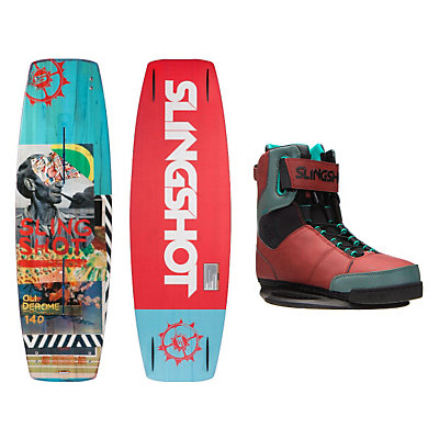 Slingshot Oli Wakeboard With R.A.D. Bindings, , viewer