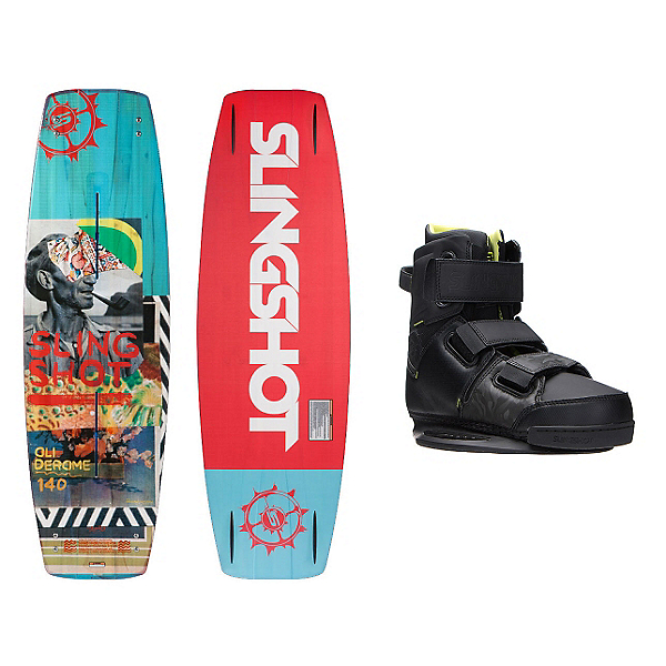 Slingshot Oli Wakeboard With KTV Bindings, , 600