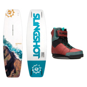 Slingshot Nomad Wakeboard With R.A.D. Bindings, 150cm, medium