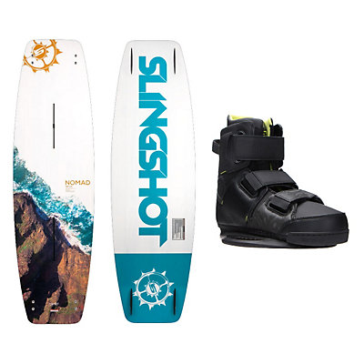 Slingshot  Wakeboard With KTV Bindings, 150cm, viewer