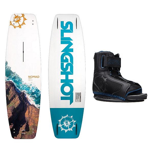 Slingshot Nomad Wakeboard With Option Bindings, , 600