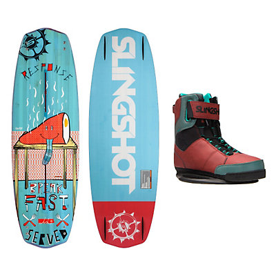 Slingshot Response Wakeboard With R.A.D. Bindings, , viewer