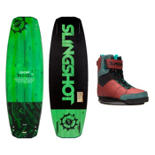 Slingshot Recoil Wakeboard With R.A.D. Bindings, , medium