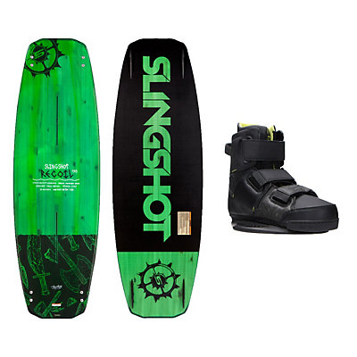 Slingshot Recoil Wakeboard With KTV Bindings, , viewer