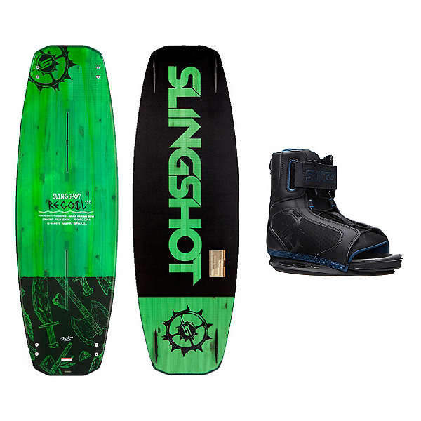 Slingshot Recoil Wakeboard With Option Bindings, , 600