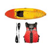Ocean Kayak Frenzy Kayak - Sport Package, Red-Black, medium