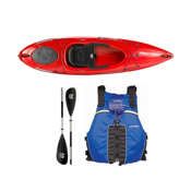 Wilderness Systems Pungo 100 Kayak - Deluxe Package 2016, Blue, medium