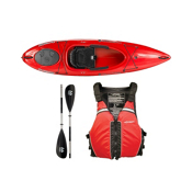 Wilderness Systems Pungo 100 Kayak - Deluxe Package 2016, Red, medium