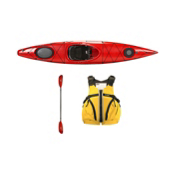 Wilderness Systems Tsunami 125 Kayak Package 2016, , medium