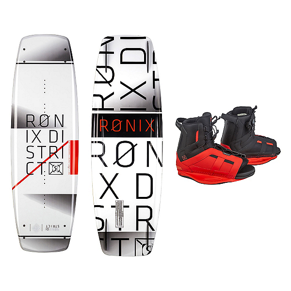 Ronix District Wakeboard With District Bindings, , 600
