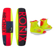 Ronix Quarter Til Midnight Womens Wakeboard With Luxe Bindings, , medium