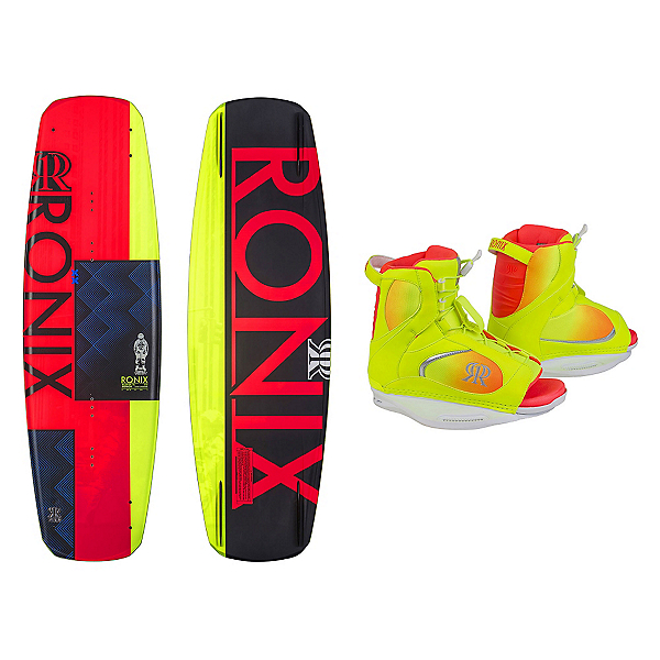 Ronix Quarter Til Midnight Womens Wakeboard With Luxe Bindings, , 600