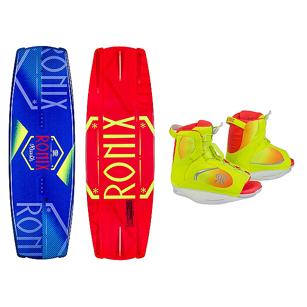 Ronix Krush Womens Wakeboard With Luxe Bindings, , 600
