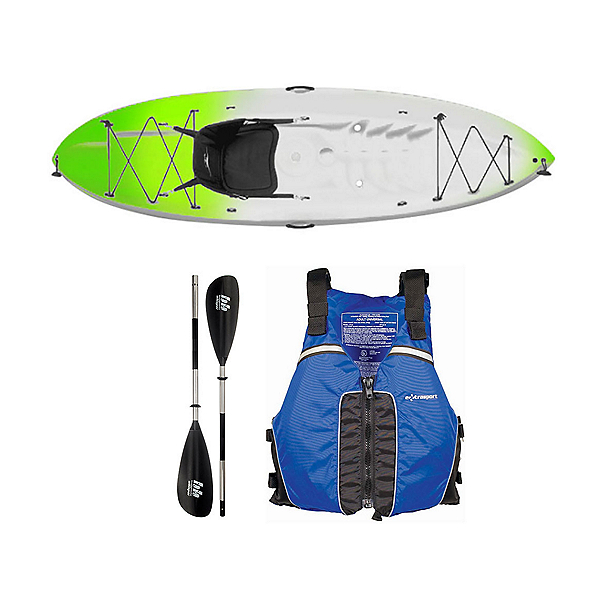Ocean Kayak Frenzy Kayak Envy Green - Sport Package 2016, , 600