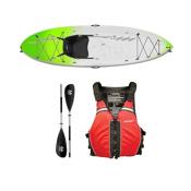 Ocean Kayak Frenzy Kayak Envy Green - Sport Package 2016, Red Black, medium