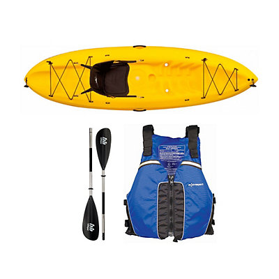 Ocean Kayak Frenzy Kayak Yellow - Sport Package 2016, Blue-Black, viewer