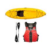 Ocean Kayak Frenzy Kayak Yellow - Sport Package 2016, Red-Black, medium