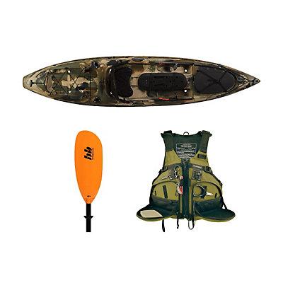 Ocean Kayak Trident 11 Angler Kayak Brown Camo - Deluxe Fishing Package 2016, , viewer