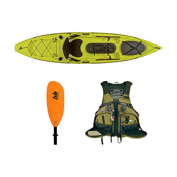 Ocean Kayak Trident 11 Angler Kayak Lemongrass - Deluxe Fishing Package 2016, , 600
