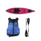 Ocean Kayak Venus 11 Kayak Fuschia - Deluxe Package 2016, , medium