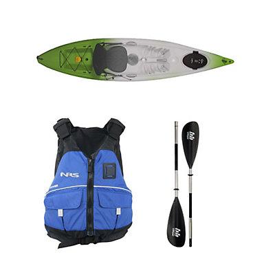 Ocean Kayak Venus 11 Kayak Envy Green - Deluxe Package 2016, , viewer