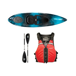Wilderness Systems Pungo 100 Kayak Midnight - Deluxe Package, Red, 256