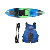 Wilderness Systems Pungo 100 Galaxy Kayak - Deluxe Package, Blue, medium
