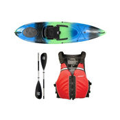 Wilderness Systems Pungo 100 Galaxy Kayak - Deluxe Package, Red, medium