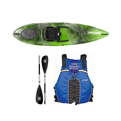 Wilderness Systems Pungo 100 Sonar Kayak - Deluxe Package, Blue, viewer