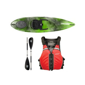 Wilderness Systems Pungo 100 Sonar Kayak - Deluxe Package 2016, Red, medium