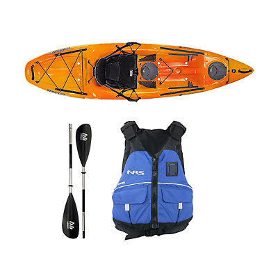 Wilderness Systems Tarpon 100 Mango Kayak - Deluxe Package, , viewer