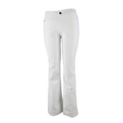 Obermeyer Bond II Short Womens Ski Pants, White, medium