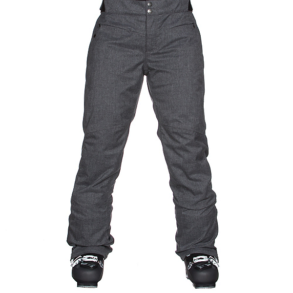 Obermeyer Essex Womens Ski Pants, Dark Heather Grey, 600